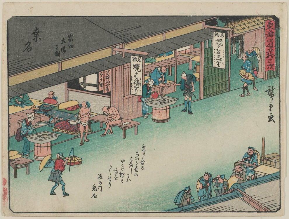 江戸時代の商店の買い物はツケで買い物、江戸での信用取引