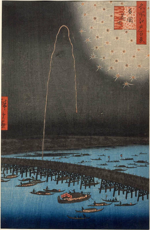 掛け声にも用いられる江戸で人気のあった2つの花火屋『鍵屋』『玉屋』