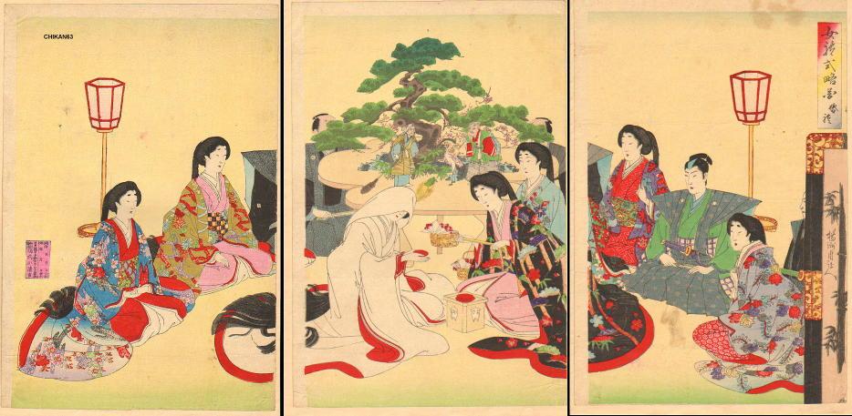 江戸時代の武士や大名の婚礼は庶民の結婚の違い